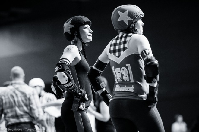 April was the first time I got to shoot as an official photographer for the Texas Rollergirls. It was certainly interesting to see the bout from zebra land. I never felt like I got into a groove the whole night, not sure if it was nerves, or just trying different […]